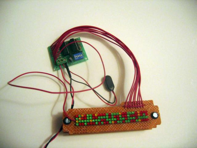Rear Logic Electronics (108 LEDs)
