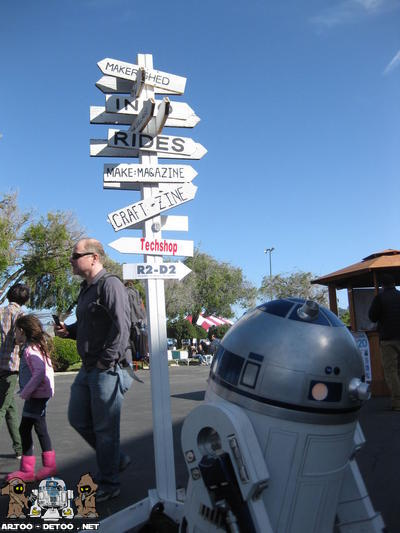 R2 trying to find his way