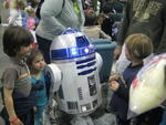R2 at the Star Wars Craft workshop