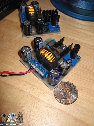 Variable Voltage Converter (12 to 24V)