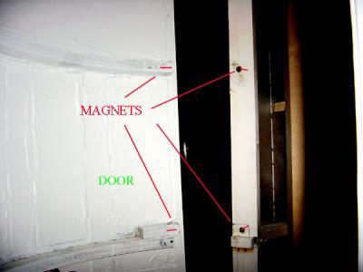 Frank Cerney Door Magnets