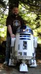 Chris and Artoo