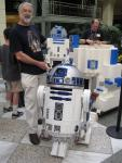 Giant Lego R2-D2 Build - Hillsdale Mall